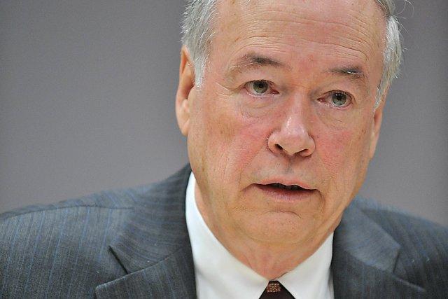 Le recteur de l'Université Laval, Denis Brière, a... (Photothèque Le Soleil, Steve Deschênes)