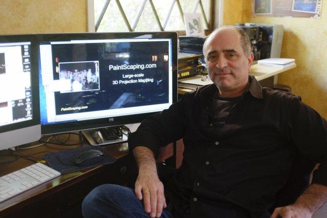 Philippe Bergeron a fondé la compagnie Paintscaping, qui... (Photo: Nicolas Bérubé, La Presse)