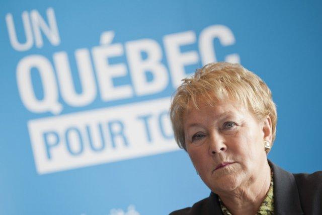 Pauline Marois... (Photo: David Boily, La Presse)