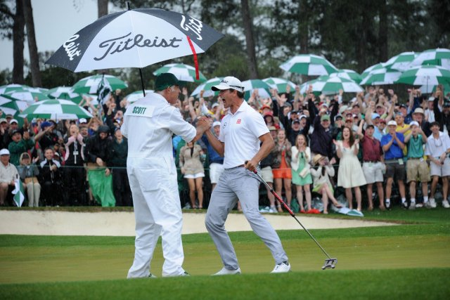 L'Augusta National a repris son cours normal depuis... (Photo Jim Watson, AFP)