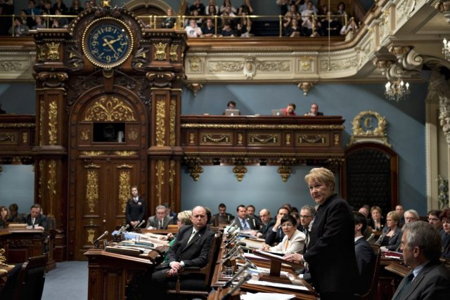 L'Assemblée nationale a adopté, sans débat, à l'unanimité,... (Photo Jacques Boissinot, La Presse Canadienne)