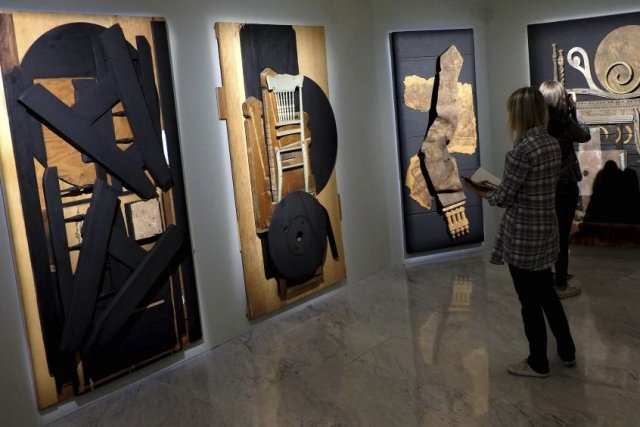L'artiste Louise Nevelson s'est fait connaître pour ses... (Photo: AFP)