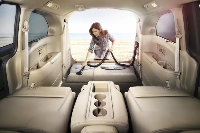 Si vos enfants ont déjà dévoré des chips ou du pop-corn dans l'auto, vous savez... (Photo Honda)