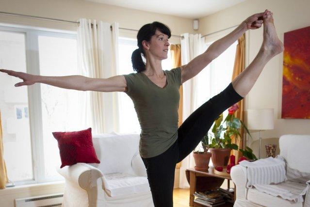 Porte-parole du Mois de la jonquille de la Société canadienne du cancer, qui... (Photo André Pichette, La Presse)