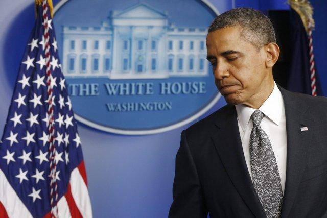 Le président américain Barack Obama.... (PHOTO CHARLES DHARAPAK, AP)