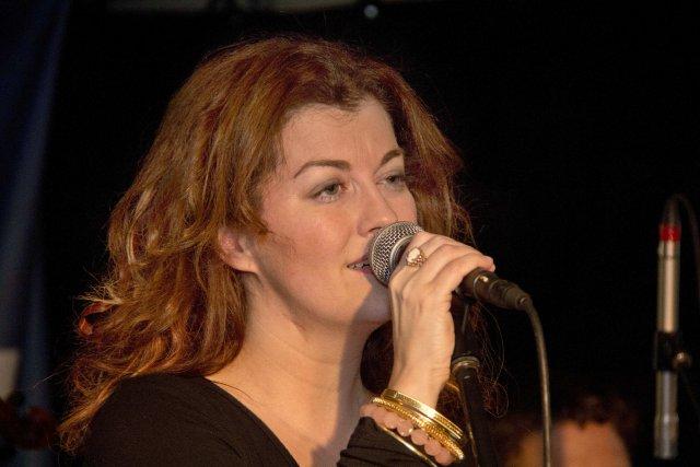 La chanteuse jazz de Jonquière, Marie-Noelle Claveau, a... (Photo Tommy Plante, stagiaire)