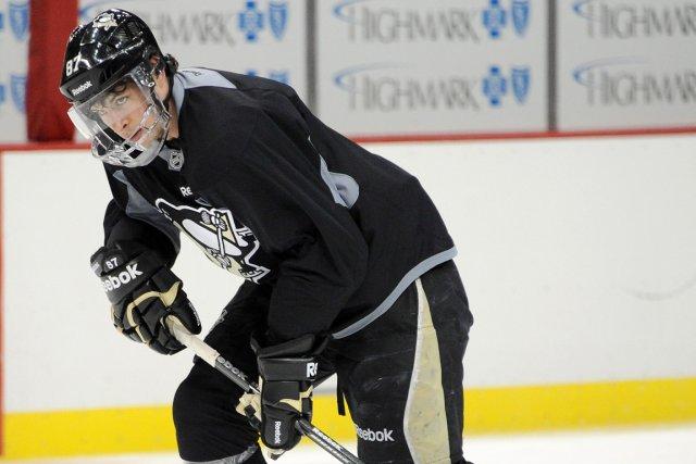 Sidney Crosby se remet d'une fracture de la... (Photo Chaz Palla, AP)