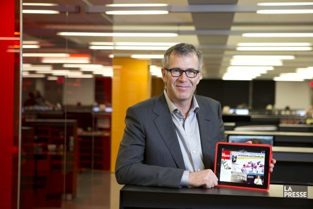 Après trois ans de recherche et de développement et un investissement de 40... (Photo Alain Roberge, La Presse)