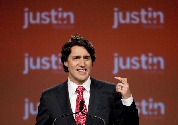 Le chef du PLC, Justin Trudeau.... (Photo Nathan Denette, La Presse Canadienne)