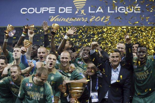 Saint tienne gagne son premier troph e depuis 1981 soccer - Saint etienne paris coupe de la ligue ...