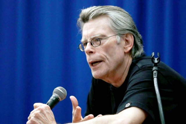 Le romancier Stephen King... (Photo: archives La Presse Canadienne)