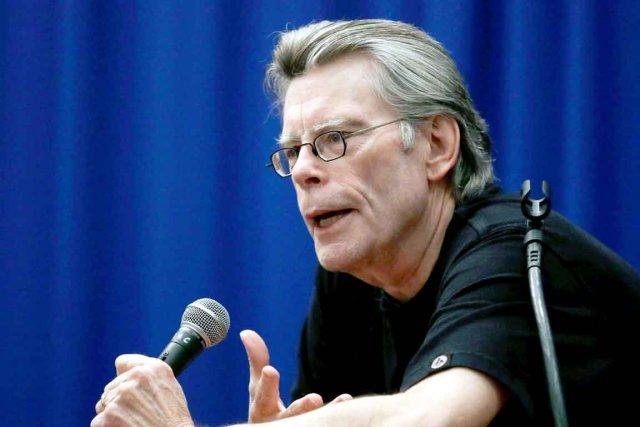 Le romancier Stephen King... (Photo: archives La Presse Canadienne)