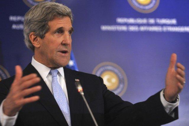 Le secrétaire d'État américain John Kerry a annoncé... (PHOTO OZAN KOSE, AFP)