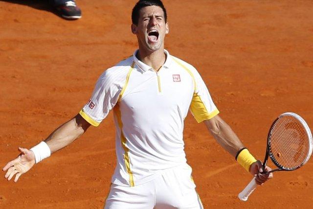 Novak Djokovic a vengé sa défaite de l'an... (PHOTO VALERY HACHE, AFP)