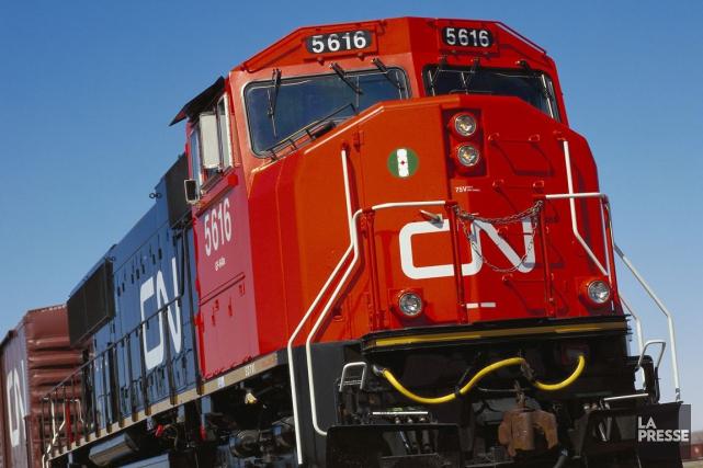 Le CN a indiqué que le lock-out sera... (PHOTO ARCHIVES REUTERS)