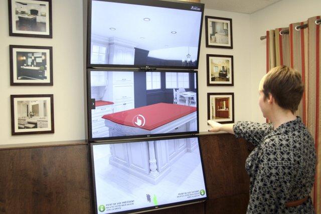 Cuisines beauregard une perc e dans le monde virtuel for Cuisine beauregard