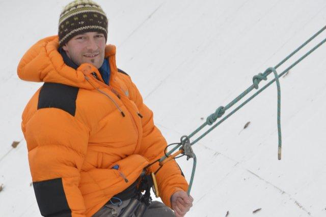 Le Bromontois Nicolas Legault partira pour l'Antarctique en... (photo Maxime Sauvage)