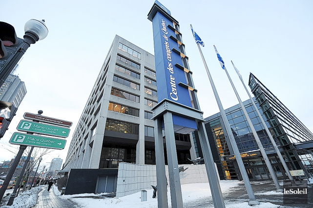 Le Centre des congrès de Québec... (Photothèque Le Soleil)