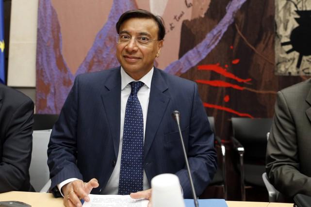 Le PDG d'ArcelorMittal, Lakshmi Mittal.... (PHOTO ARCHIVES REUTERS)