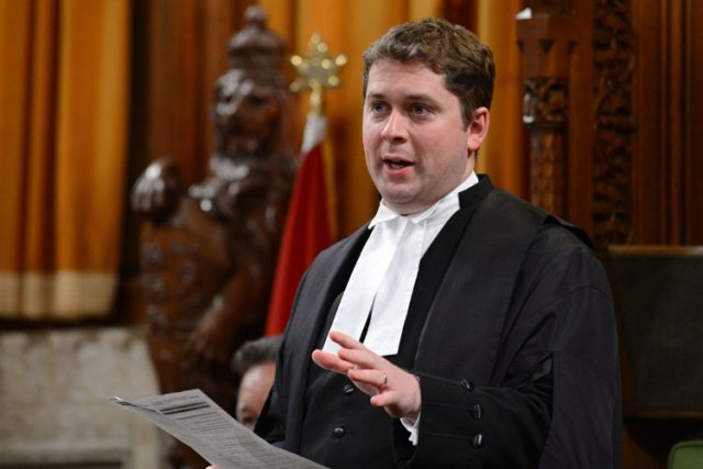 Andrew Scheer... (Photo: PC)