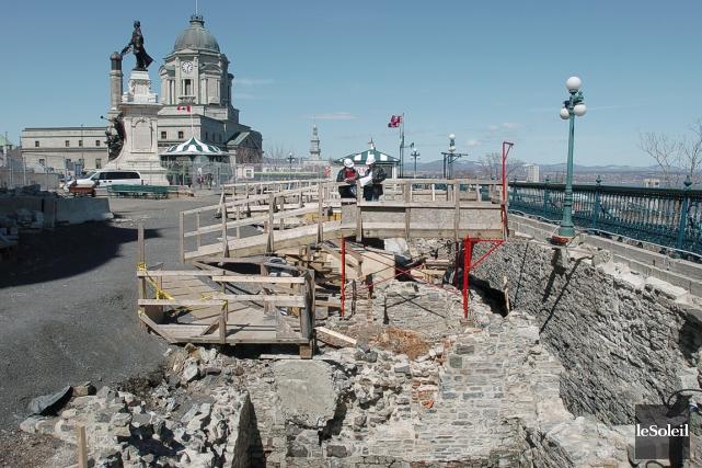 À Québec, cinq millions d'objets historiques pouvant aller... (Photothèque Le Soleil, Steve Deschênes)