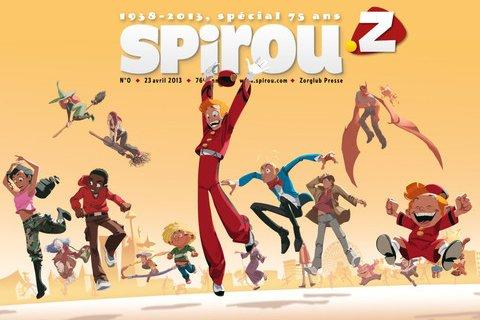 À 75 ans, l'aventure continue plus que jamais pour Spirou, le groom le  plus...