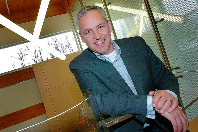 Alain-Jacques Simard, président et chef de la direction... (Photo Le Soleil, Jean-Marie Villeneuve)