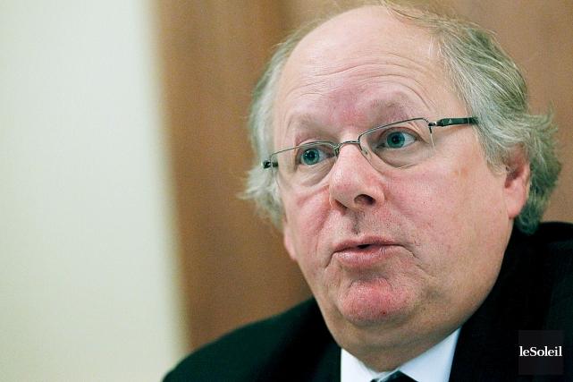 Le directeur général des élections du Québec, Jacques... (Photothèque Le Soleil, Yan Doublet)