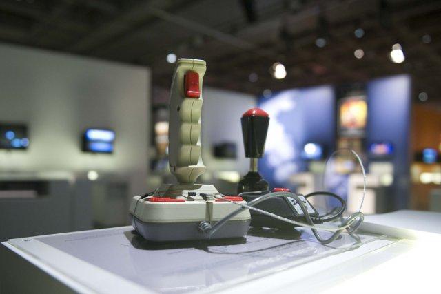 Presque tous les jeux vidéo que les visiteurs... (Photo: Steve Deschênes, Le Soleil)