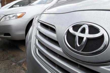 Le premier constructeur mondial d'automobiles, Toyota (TM), a... (Photo AP)