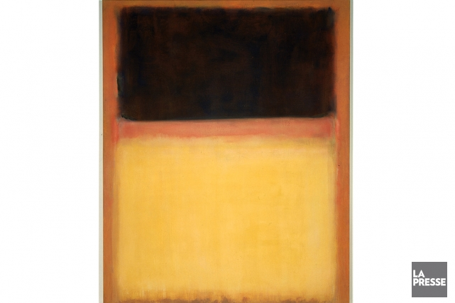 Une oeuvre de Mark Rothko... (Photo: archives La Presse)