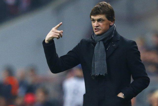 L'entraîneur du FC Barcelone, Tito Vilanova.... (Photo : Michael Dalder, archives Reuters)
