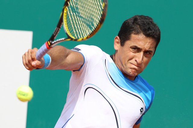 Nicolas Almagro... (Photo Jean Christophe Magnenet, AFP)