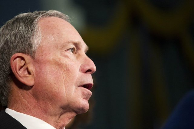 L'ancien maire de New York, Michael Bloomberg.... (Photo Andrew Kelly, Reuters)