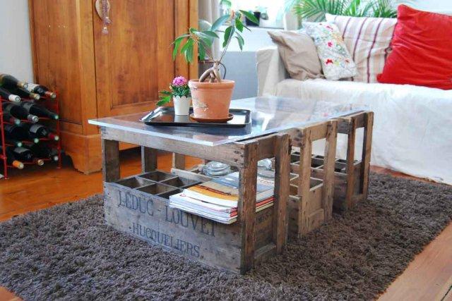 Une table basse qui s'intègre à tous les...