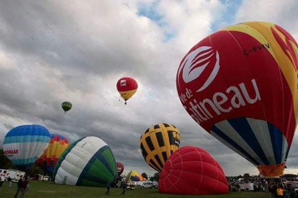 Festival de montgolfières de Gatineau... (SIMON SÉGUIN-BERTRAND, Archives, LeDroit)