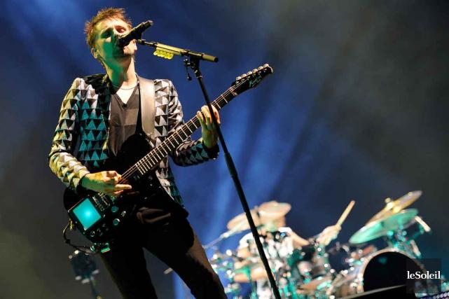 Matthew Bellamy, le chanteur de Muse... (Photothèque Le Soleil, Patrice Laroche)
