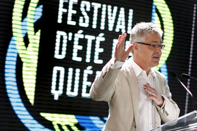 Le directeur général du Festival d'Été, Daniel Gélinas,... (Photothèque Le Soleil, Yan Doublet)