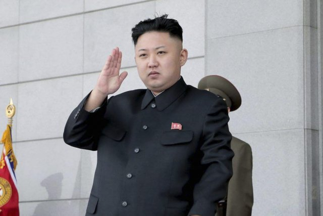 Kim Jung-un... (PHOTO AFP / KCNA VIA KNS)
