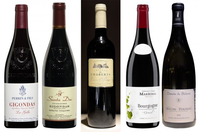 Voici les cinq vins présentés cette semaine par... (Photos La Presse)
