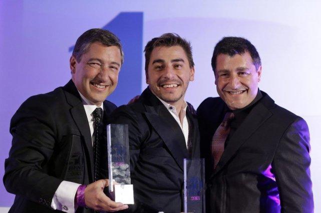 Joan Roca (à gauche) et ses frères Jordi... (Photo AFP)