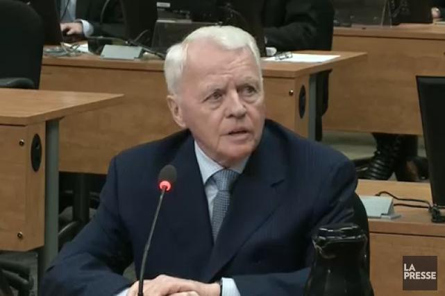 Gilles Cloutier... (Photo tirée d'une vidéo)
