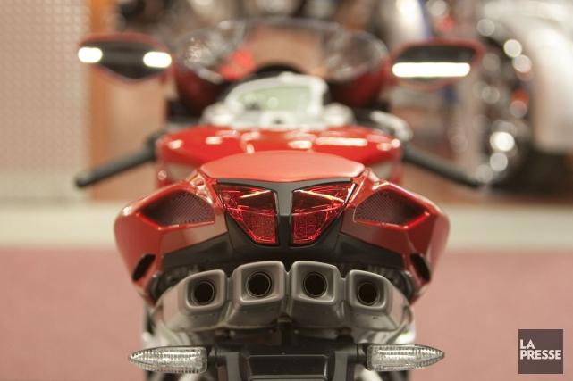 Pour les motocyclettes et cyclomoteurs qui excéderont un... (Photo Ivanoh Demers, archives La Presse)