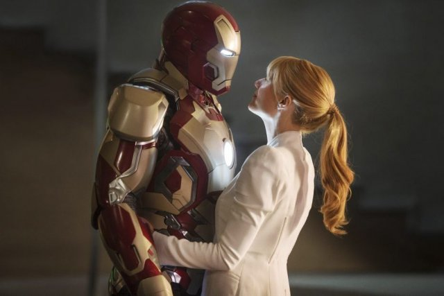 Robert Downey Jr. et Gwyneth Paltrow dans une... (Photo: fournie par Disney)