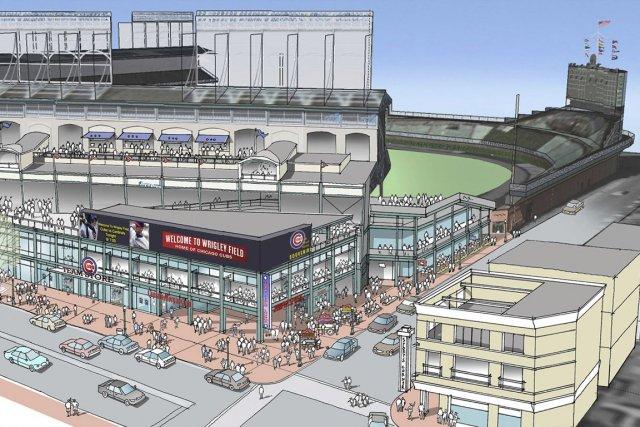 Un croquis du plan des rénovations de 500... (Photo Associated Press)