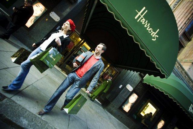 Le célèbre magasin Harrods de Londres prévoit d'ouvrir... (Photo VisitBritain/ Simon Winnall)