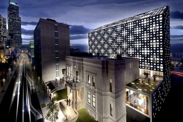 Projet de transformation en hôtel du club Mount... (Photo fournie par Lemay)