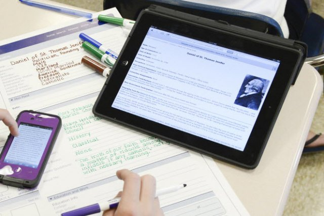 L'iPad d'Apple a encore perdu un peu de son avance au premier trimestre sur le...