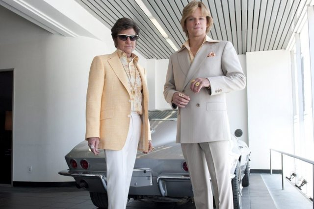 Michael Douglas incarne Liberace et Matt Damon son... (Photo: La Presse Canadienne)