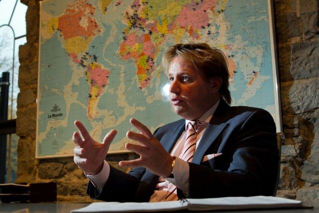 Eric Boyko, président de Stingray Digital... (Photo Hugo-Sebastien Aubert, La Presse)